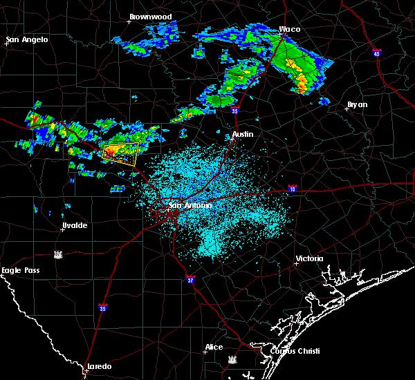 Radar Image for Severe Thunderstorms near Fredericksburg, TX at 5/14/2019 12:49 PM CDT