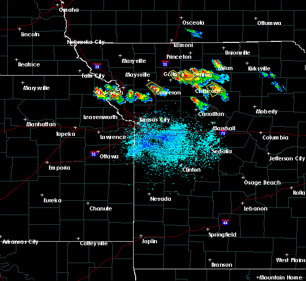 Radar Image for Severe Thunderstorms near Rushville, MO at 5/14/2019 8:06 PM CDT