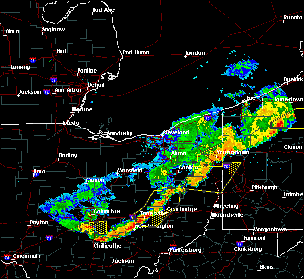 Radar Image for Severe Thunderstorms near Plainfield, OH at 6/12/2015 5:09 PM EDT