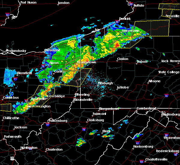 Radar Image for Severe Thunderstorms near Washingtonville, OH at 6/12/2015 5:12 PM EDT