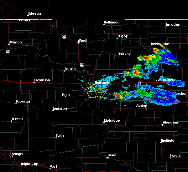 Radar Image for Severe Thunderstorms near Woodworth, ND at 5/15/2019 7:00 PM CDT