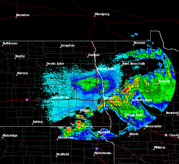 Radar Image for Severe Thunderstorms near Twin Lakes, MN at 5/15/2019 10:38 PM CDT