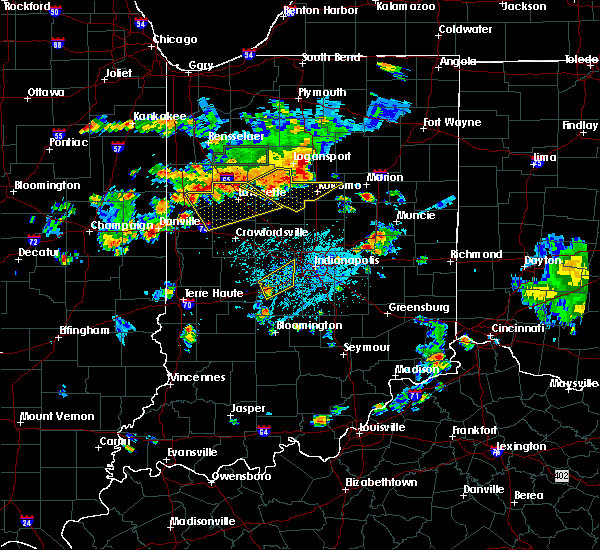 Radar Image for Severe Thunderstorms near Otterbein, IN at 6/12/2015 5:19 PM EDT
