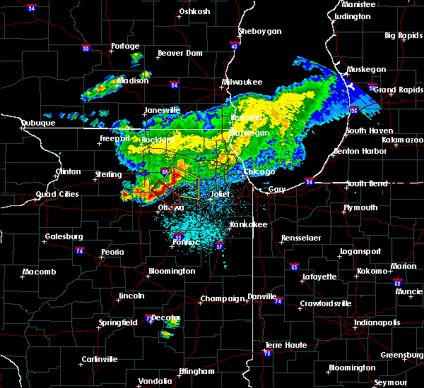 Radar Image for Severe Thunderstorms near Yorkville, IL at 5/16/2019 11:56 AM CDT