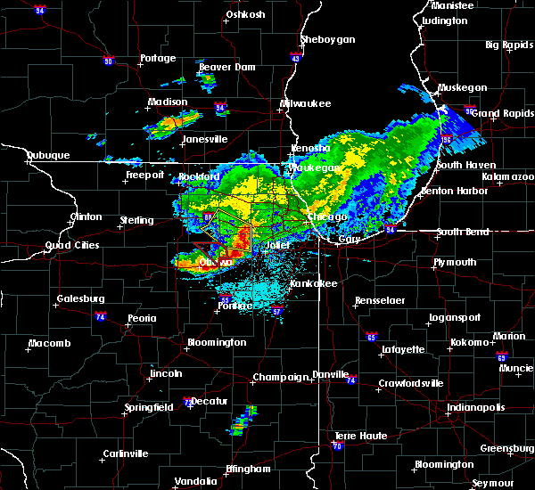 Radar Image for Severe Thunderstorms near Yorkville, IL at 5/16/2019 12:28 PM CDT