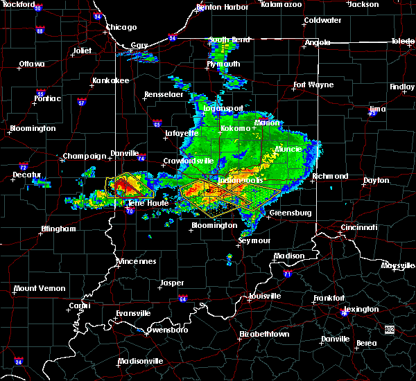 Radar Image for Severe Thunderstorms near Indianapolis, IN at 5/16/2019 5:52 PM EDT