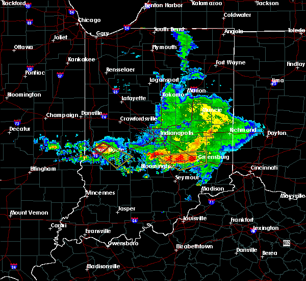 Radar Image for Severe Thunderstorms near Terre Haute, IN at 5/16/2019 6:29 PM EDT