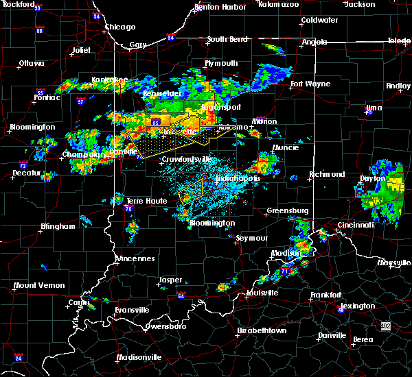 Radar Image for Severe Thunderstorms near Trafalgar, IN at 6/12/2015 5:25 PM EDT