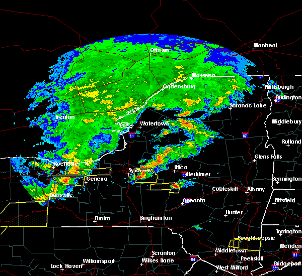 Radar Image for Severe Thunderstorms near Cazenovia, NY at 6/12/2015 5:26 PM EDT
