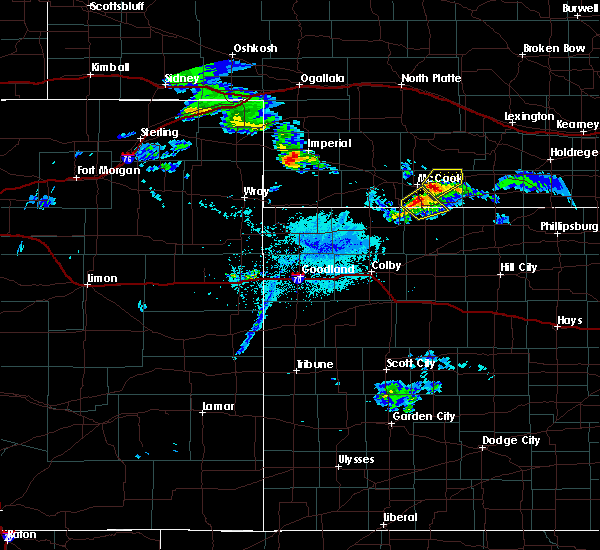 Radar Image for Severe Thunderstorms near Indianola, NE at 5/16/2019 6:50 PM CDT