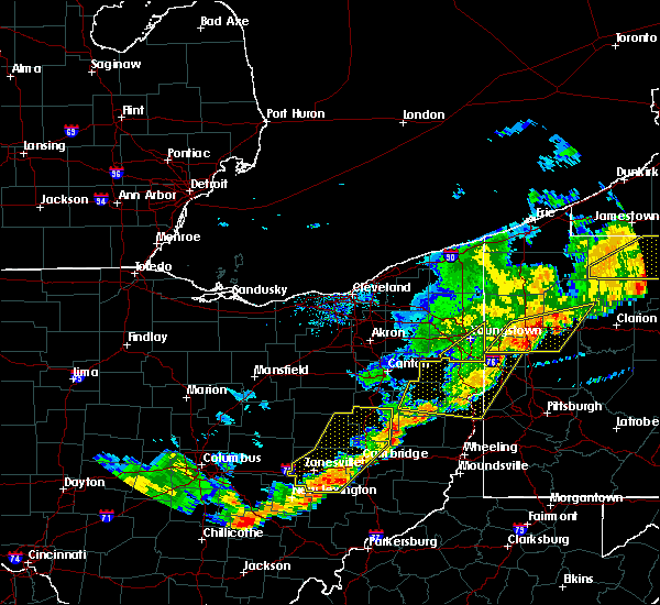 Radar Image for Severe Thunderstorms near Plainfield, OH at 6/12/2015 5:29 PM EDT
