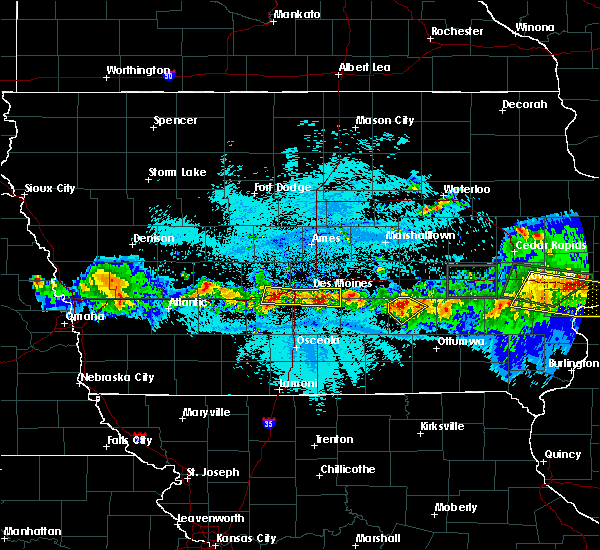 Radar Image for Severe Thunderstorms near New Sharon, IA at 5/16/2019 9:57 PM CDT
