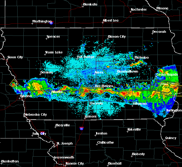 Radar Image for Severe Thunderstorms near New Sharon, IA at 5/16/2019 10:06 PM CDT
