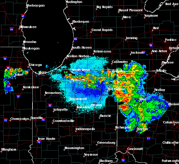 Radar Image for Severe Thunderstorms near Coldwater, OH at 5/16/2019 11:19 PM EDT