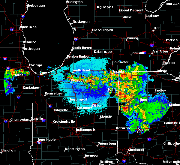 Radar Image for Severe Thunderstorms near Middle Point, OH at 5/16/2019 11:22 PM EDT