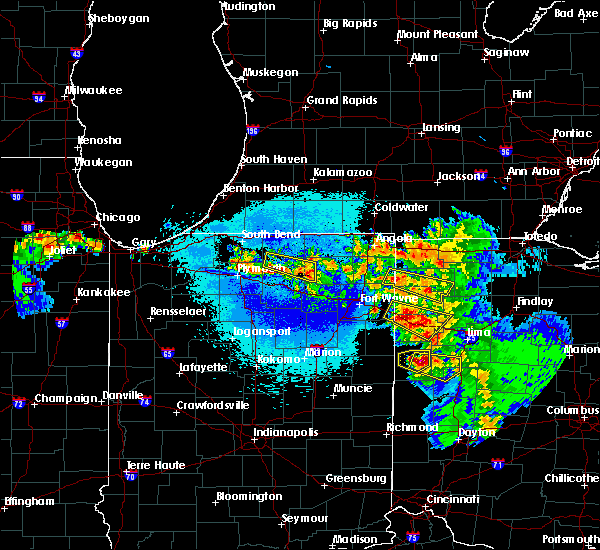 Radar Image for Severe Thunderstorms near Sherwood, OH at 5/16/2019 11:28 PM EDT