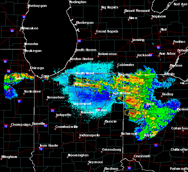Radar Image for Severe Thunderstorms near Middle Point, OH at 5/16/2019 11:31 PM EDT