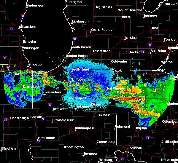 Radar Image for Severe Thunderstorms near Lima, OH at 5/17/2019 12:50 AM EDT