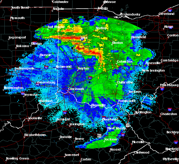 Radar Image for Severe Thunderstorms near Jackson Center, OH at 5/17/2019 12:51 AM EDT