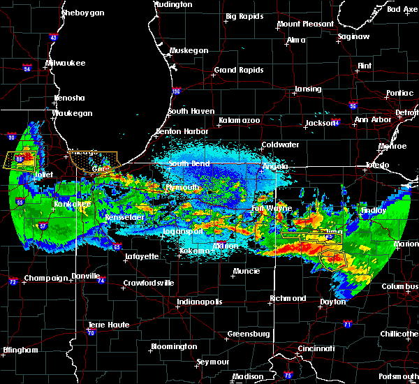 Radar Image for Severe Thunderstorms near Lima, OH at 5/17/2019 1:29 AM EDT
