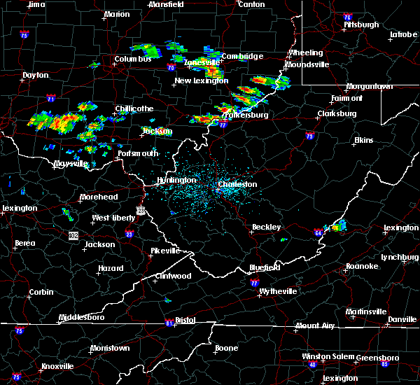 Radar Image for Severe Thunderstorms near Mason, OH at 5/17/2019 4:20 PM EDT