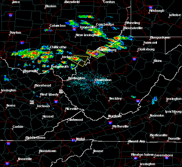 Radar Image for Severe Thunderstorms near Mason, OH at 5/17/2019 4:40 PM EDT