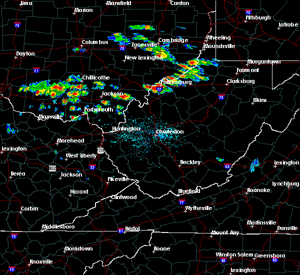 Radar Image for Severe Thunderstorms near Hockingport, OH at 5/17/2019 4:42 PM EDT