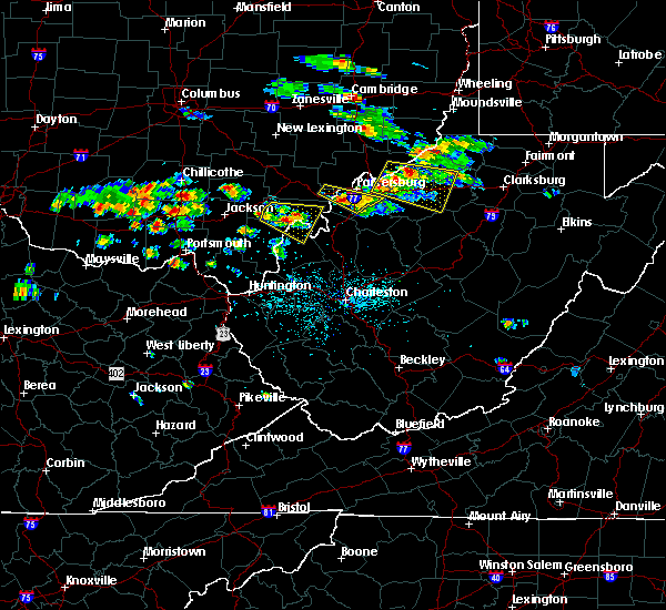 Radar Image for Severe Thunderstorms near West Union, WV at 5/17/2019 4:55 PM EDT