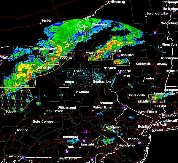 Radar Image for Severe Thunderstorms near Prattsburgh, NY at 6/12/2015 5:39 PM EDT