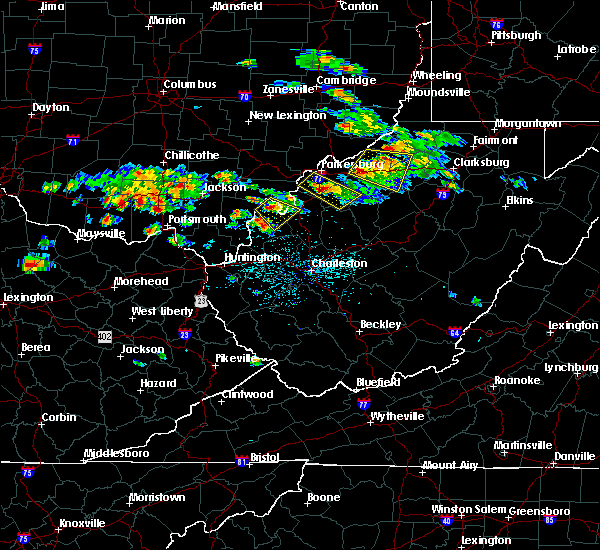 Radar Image for Severe Thunderstorms near Cairo, WV at 5/17/2019 5:15 PM EDT