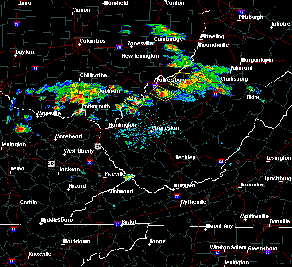Radar Image for Severe Thunderstorms near Mineralwells, WV at 5/17/2019 5:23 PM EDT
