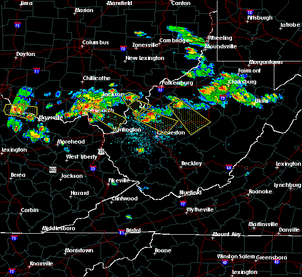 Radar Image for Severe Thunderstorms near Clarktown, OH at 5/17/2019 5:54 PM EDT