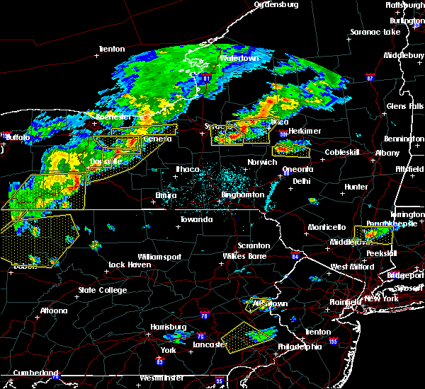 Radar Image for Severe Thunderstorms near Clifton Springs, NY at 6/12/2015 5:43 PM EDT