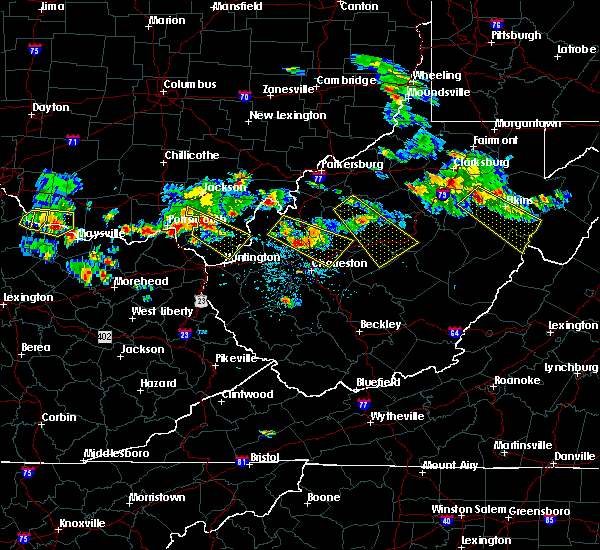 Radar Image for Severe Thunderstorms near Belington, WV at 5/17/2019 6:05 PM EDT