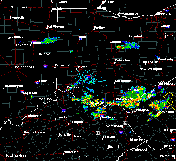 Radar Image for Severe Thunderstorms near Ripley, OH at 5/17/2019 6:19 PM EDT