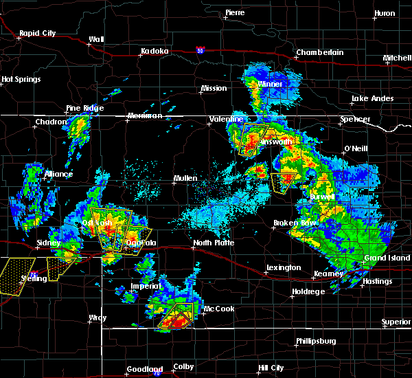 Radar Image for Severe Thunderstorms near Ainsworth, NE at 5/17/2019 5:32 PM CDT