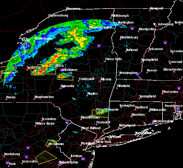 Radar Image for Severe Thunderstorms near Pawling, NY at 6/12/2015 5:47 PM EDT