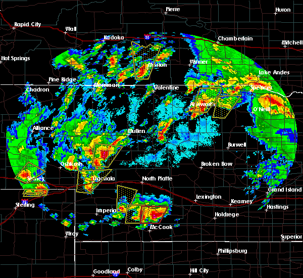 Radar Image for Severe Thunderstorms near Wallace, NE at 5/17/2019 6:30 PM CDT