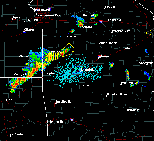 Radar Image for Severe Thunderstorms near Gerster, MO at 6/12/2015 4:50 PM CDT