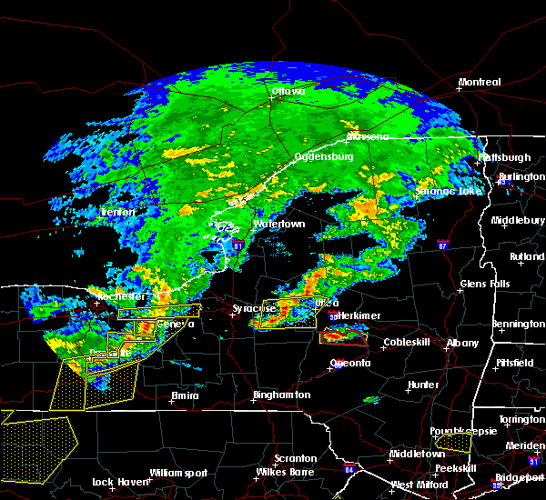 Radar Image for Severe Thunderstorms near Herkimer, NY at 6/12/2015 5:50 PM EDT