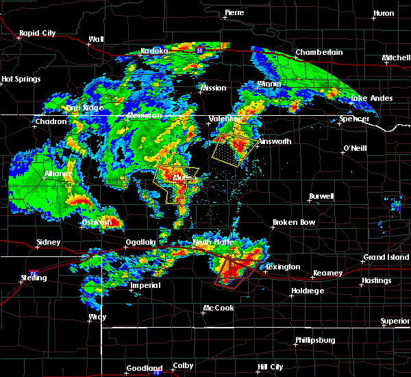 Radar Image for Severe Thunderstorms near Cozad, NE at 5/17/2019 7:36 PM CDT