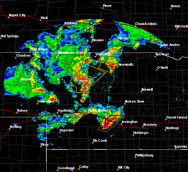 Radar Image for Severe Thunderstorms near Cozad, NE at 5/17/2019 7:43 PM CDT