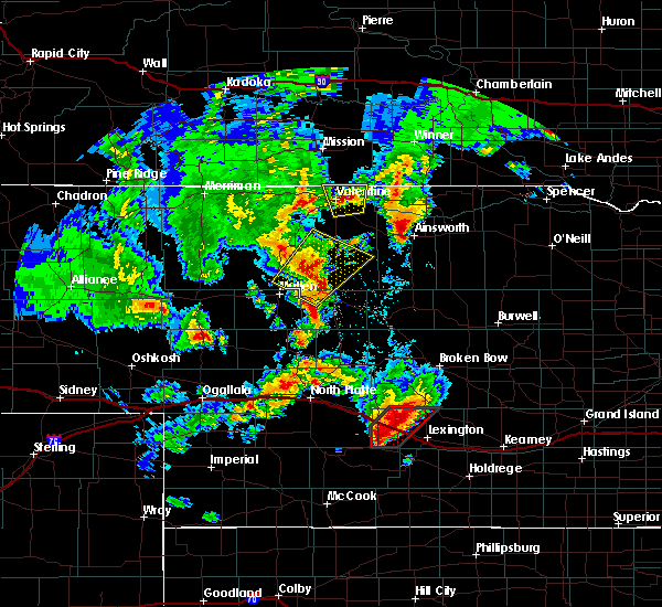 Radar Image for Severe Thunderstorms near Cozad, NE at 5/17/2019 7:55 PM CDT