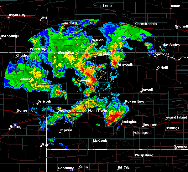 Radar Image for Severe Thunderstorms near Willow Island, NE at 5/17/2019 8:04 PM CDT