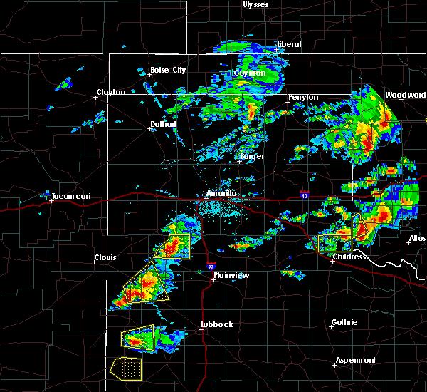 Radar Image for Severe Thunderstorms near Dimmitt, TX at 6/12/2015 4:51 PM CDT