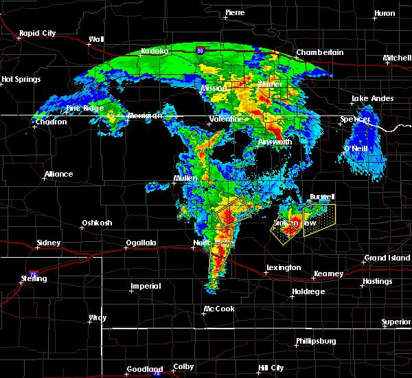 Radar Image for Severe Thunderstorms near Ord, NE at 5/17/2019 9:39 PM CDT