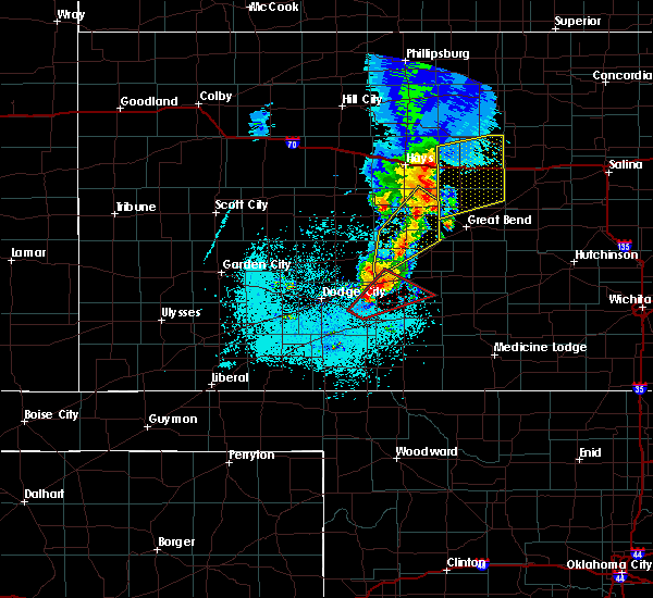 Radar Image for Severe Thunderstorms near Lucas, KS at 5/17/2019 9:52 PM CDT