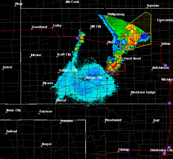 Radar Image for Severe Thunderstorms near Radium, KS at 5/17/2019 10:40 PM CDT