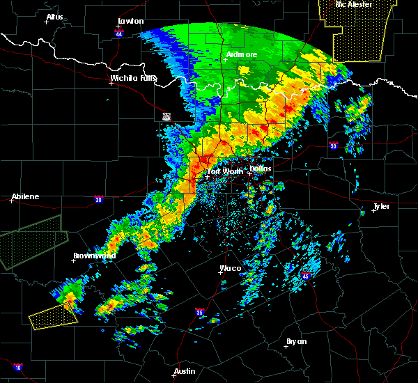 Radar Image for Severe Thunderstorms near Kennedale, TX at 5/18/2019 12:35 PM CDT
