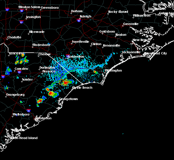 Radar Image for Severe Thunderstorms near Aynor, SC at 5/18/2019 4:47 PM EDT